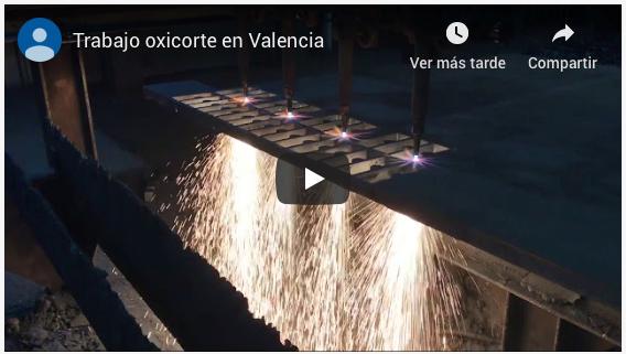 Oxicorte en Valencia